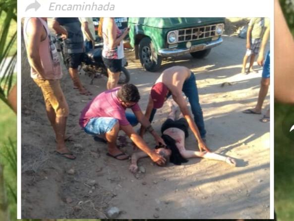 Acidente envolvendo carro e moto deixa mecânico da Honda gravemente ferido, na zona rural de São Bento